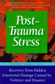 Cover of: Post-Trauma Stress | Frank Parkinson