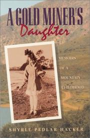 Cover of: A gold miner's daughter