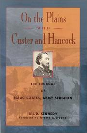 Cover of: On the plains with Custer and Hancock