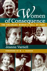 Cover of: Women of consequence