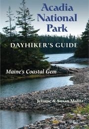Cover of: Acadia National Park dayhiker's guide