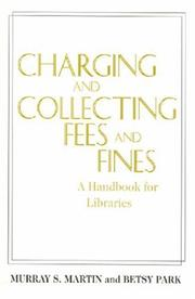 Cover of: Charging and collecting fees and fines