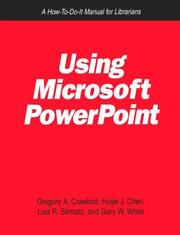 Cover of: Using Microsoft PowerPoint