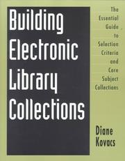Cover of: Building Electronic Library Collections