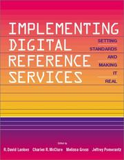 Cover of: Implementing Digital Reference Services