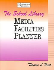 Cover of: school library media facilities planner | Thomas L. Hart