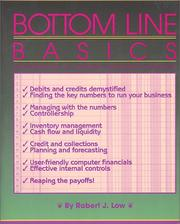 Cover of: Bottom Line Basics (Psi Successful Business Library) | Robert J. Low
