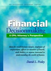 Cover of: Financial decisionmaking | David L. Fraley