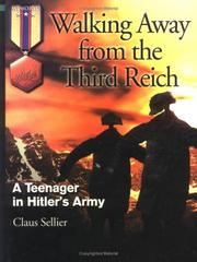 Cover of: Walking Away from the Third Reich