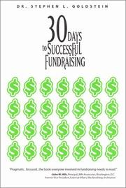 Cover of: 30 Days to Successful Fundraising (Psi Research Success Library)