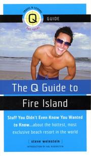 Cover of: The Q Guide to Fire Island (Q Guide To...)