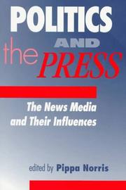 Cover of: Politics and the Press