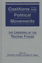 Cover of: Coalitions & politial movements |