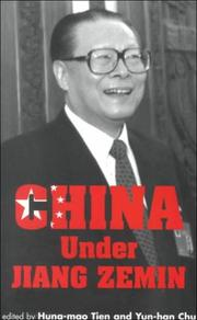 Cover of: China under Jiang Zemin