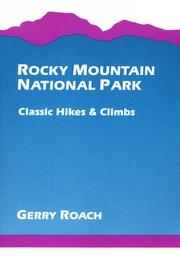 Rocky Mountain National Park by Gerry Roach