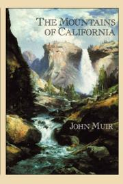 Cover of: MOUNTAINS OF CALIFORNIA (HC)