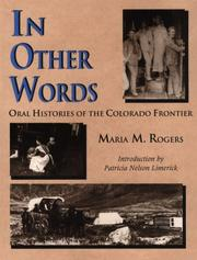 Cover of: In other words