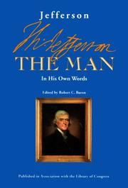 Cover of: Jefferson the man: in his own words