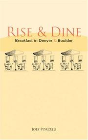 Cover of: Rise & Dine