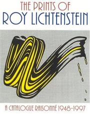 Cover of: The Prints of Roy Lichtenstein