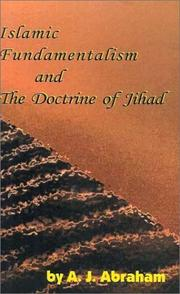 Cover of: Islamic fundamentalism and the doctrine of Jihad