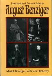 Cover of: August Benziger by Marieli G. Benziger
