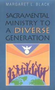 Cover of: Sacramental ministry to a diverse generation