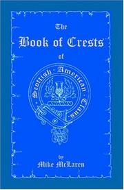 Cover of: Book of Crests of Scottish-America