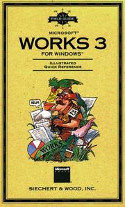 Cover of: Field Guide to Microsoft Works 3 for Windows (Field Guide (Microsoft))