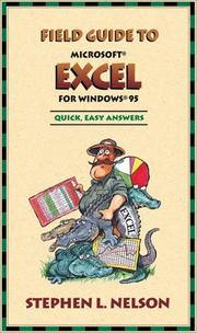 Cover of: Field guide to Microsoft Excel for Windows 95