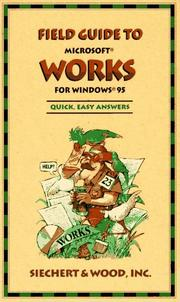 Cover of: Field Guide to Microsoft Works for Windows 95 (Field Guide (Microsoft))