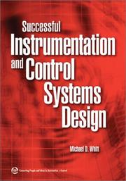 Cover of: Successful Instrumentation and Control Systems Design