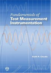Cover of: Fundamentals of Test Measurement Instrumentation