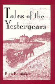 Cover of: Tales of the yesteryears