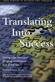 Cover of: Translating into Success |