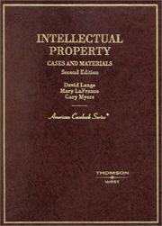 Cover of: Intellectual property