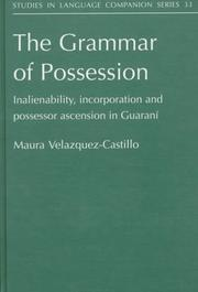 Cover of: The grammar of possession