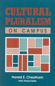 Cover of: Cultural Pluralism on Campus | Harold E. Cheatham