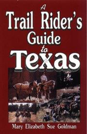 Cover of: A trail rider