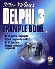 Cover of: Nathan Wallace's Delphi 3 example book