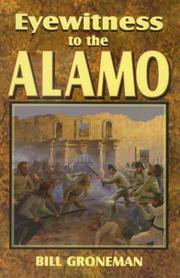 Cover of: Eyewitness to the Alamo