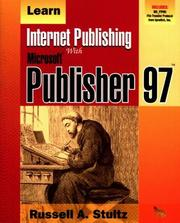 Cover of: Learn Internet publishing with Microsoft Publisher 97