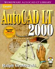 Cover of: Learn AutoCAD LT 2000