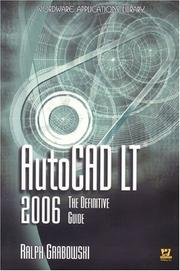 Cover of: AutoCAD LT 2006: The Definitive Guide (Wordware Applications Library)