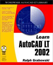 Cover of: Learn AutoCAD LT 2002