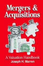 Cover of: Mergers & acquisitions | Joseph H. Marren
