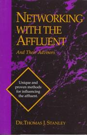 Cover of: Networking with the affluent and their advisors