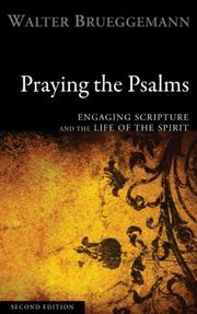 Cover of: Praying the Psalms: Engaging Scripture and the Life of the Spirit