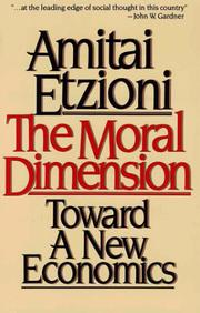 Cover of: Moral Dimension