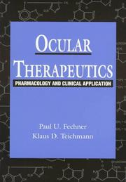 Cover of: Ocular therapeutics